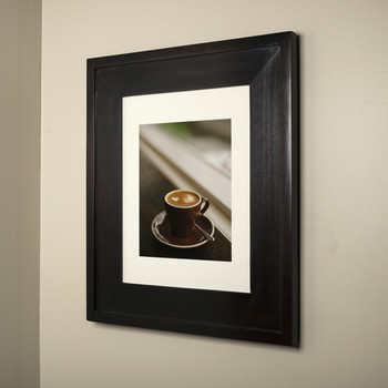 Regular Coffee Bean Concealed Cabinet Recessed In Wall