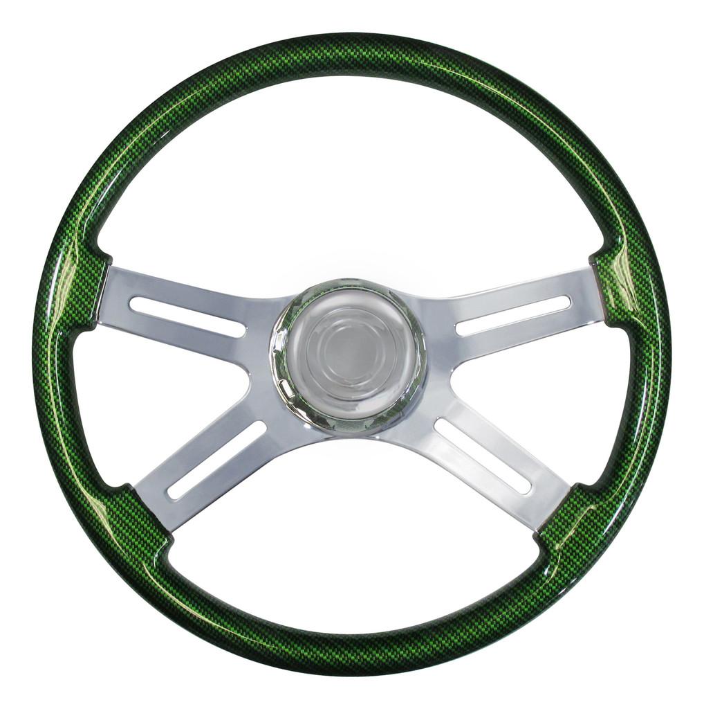 Carbon Fiber/Synergy Green
