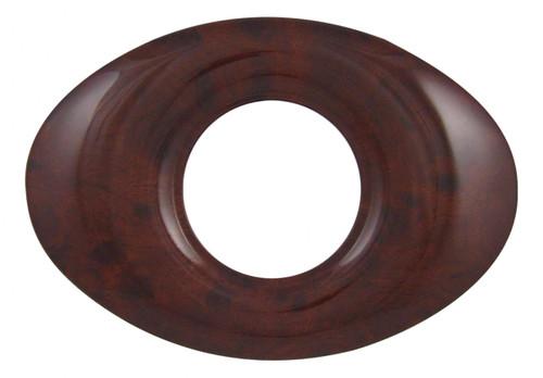 Oval - Burl Look