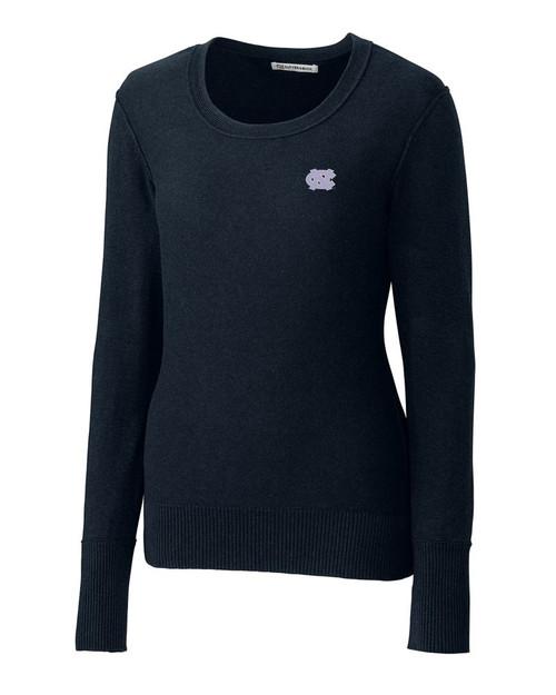 Carolina Tar Heels Women's Broadview Scoop Neck Sweater
