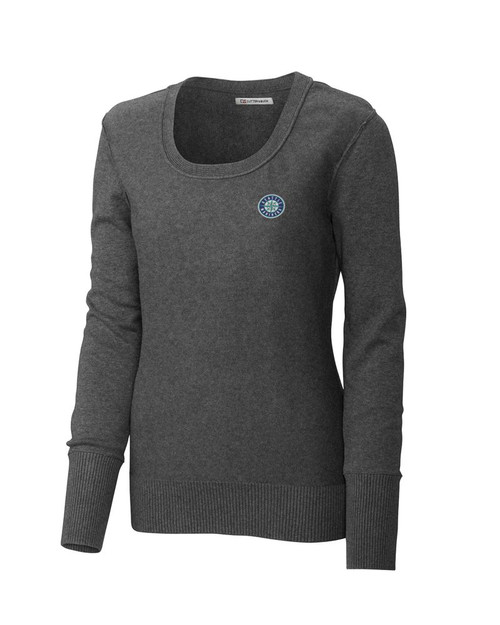 Seattle Mariners Women's Broadview Scoop Neck Sweater