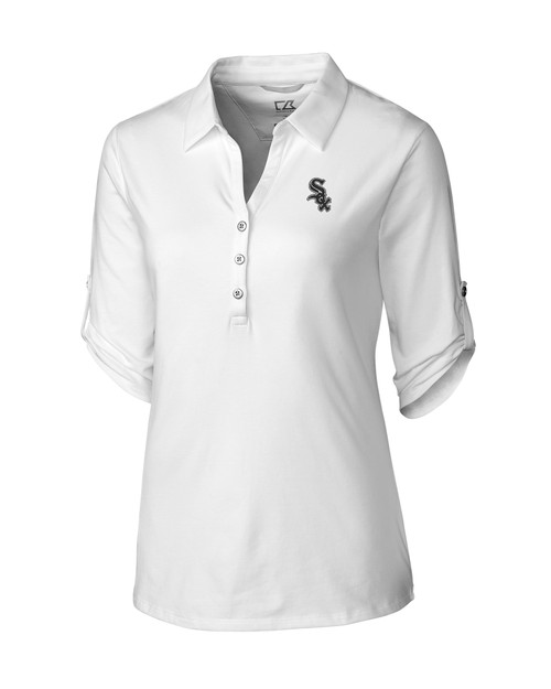 Chicago White Sox Women's E/S Thrive Polo
