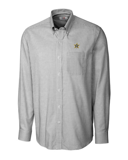 Vanderbilt Commodores B&T L/S Epic Easy Care Tattersall