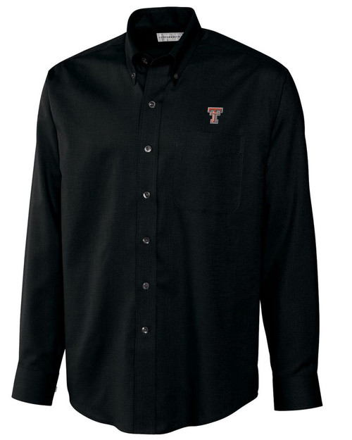 Texas Tech Red Raiders Men's L/S Epic Easy Care Nailshead