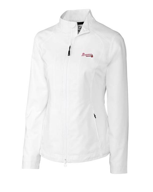 Atlanta Braves Women's CB WeatherTec Beacon Full Zip Jacket
