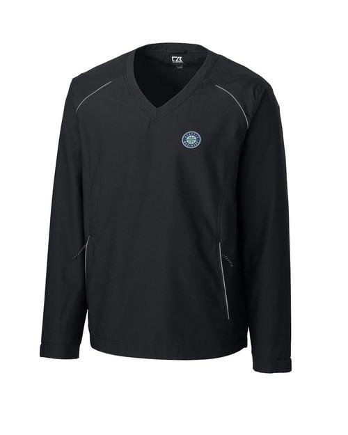 Seattle Mariners CB WeatherTec Beacon V-neck Windshirt