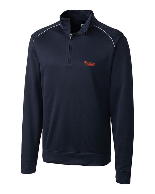 Philadelphia Phillies Men's Ridge Half Zip