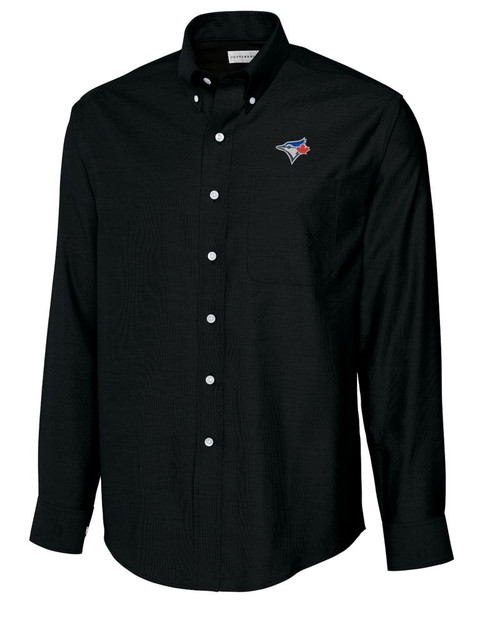 Toronto Blue Jays B&T L/S Epic Easy Care Royal Oxford Shirt
