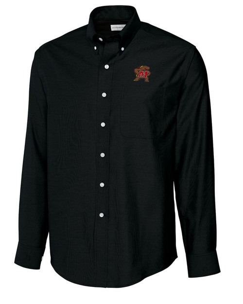 Maryland Terrapins B&T L/S Epic Easy Care Royal Oxford Shirt