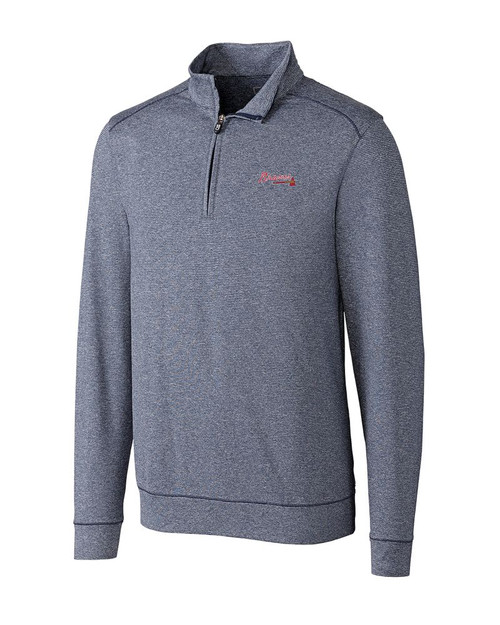 Atlanta Braves Shoreline  Half Zip