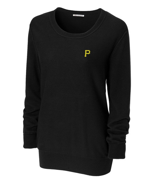 Pittsburgh Pirates Women's Broadview Scoop Neck Sweater