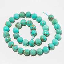 Turquoise Beads 10mm Rounds
