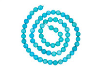 Sleeping Beauty Turquoise 6mm Round Beads