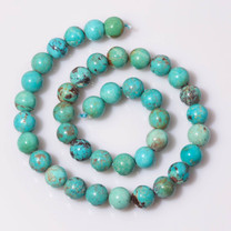 Turquoise Beads from (China) 10mm Rounds