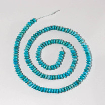 Sonoran Blue Turquoise Faceted 3x5mm
