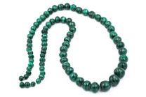 Malachite(Congo) Graduated 7-13mm Rounds