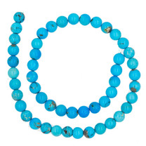 Sleeping Beauty Turquoise-8mm Rounds