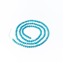 Nacozari Turquoise 3mm Rounds(Mexico) NTCR3a