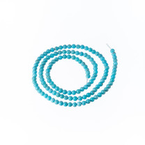 Turquoise 3mm Rounds(Mexico)