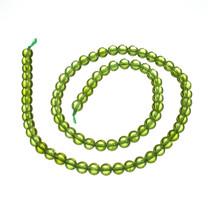 Peridot(San Carlos,Arizona) 5mm Round Beads