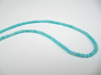 Amazonite(Peru) Natural Color 4mm Rounds AM4
