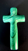 Malachite Cross- Top Drilled MCR1