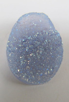 Blue Chalcedony w/Synthetic Opal Coating  BCS2