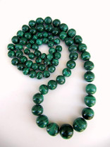 Malachite(Congo) Graduated 7-15mm Rounds  M28