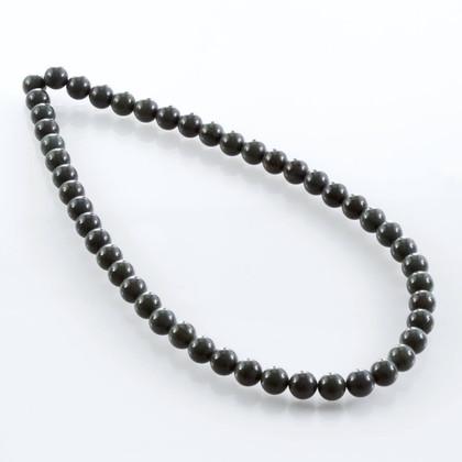 Green Obsidian Beads