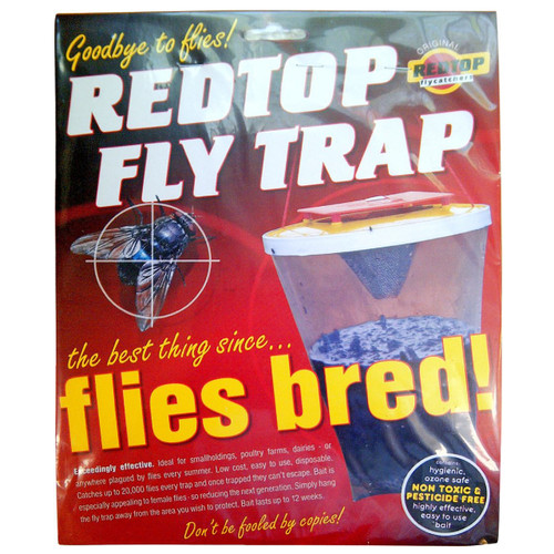 Red Top Fly Trap - The Ultimate Fly Trap