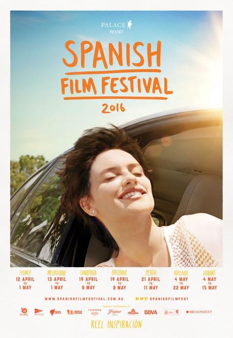 2016 Spanish Film Festival Poster