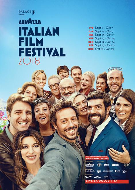 2018 Lavazza Italian Film Festival Poster