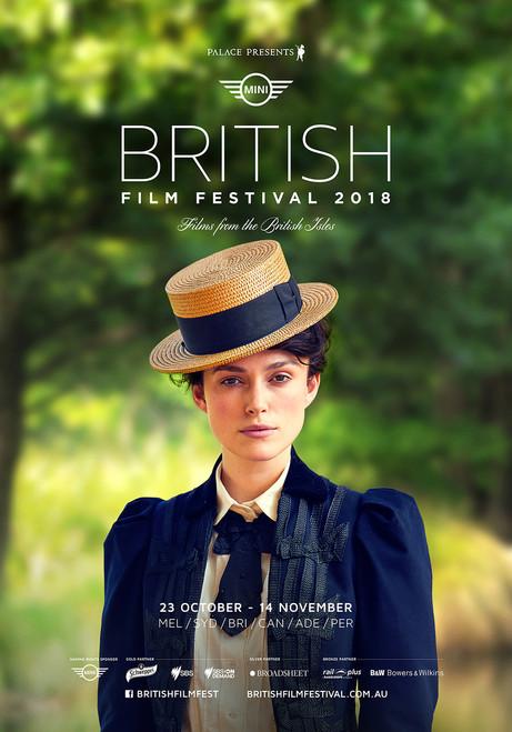 2018 British Film Festival Poster