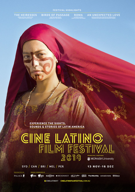 2018 Cine Latino Film Festival Poster