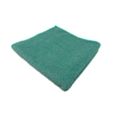 Microfiber Towel for Exterior Green