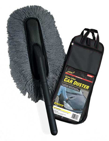 Car Duster with Pouch - Large