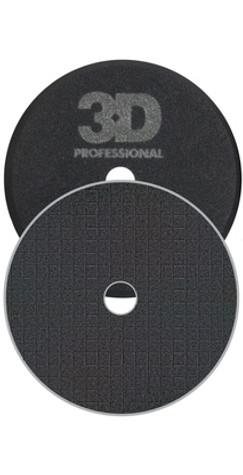 "6.5"" SPIDER-CUT BLACK FOAM POLISHING/FINISHING PAD"