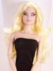 Lemon Blond 14 KatSilk Saran Doll Hair