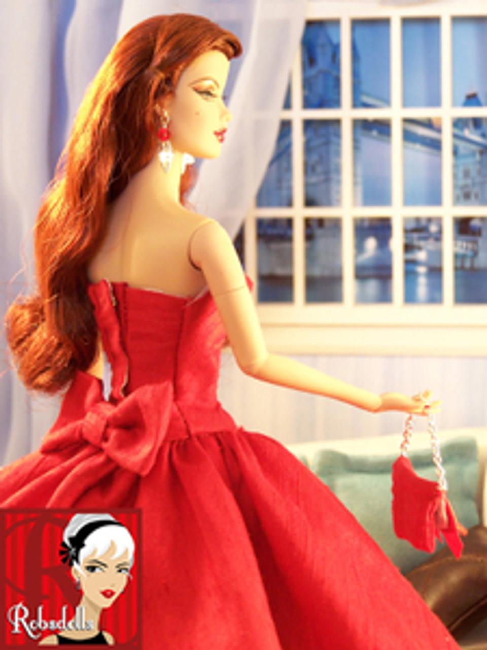 Auburn Chatty 63 KatSilk ® Saran Doll Hair