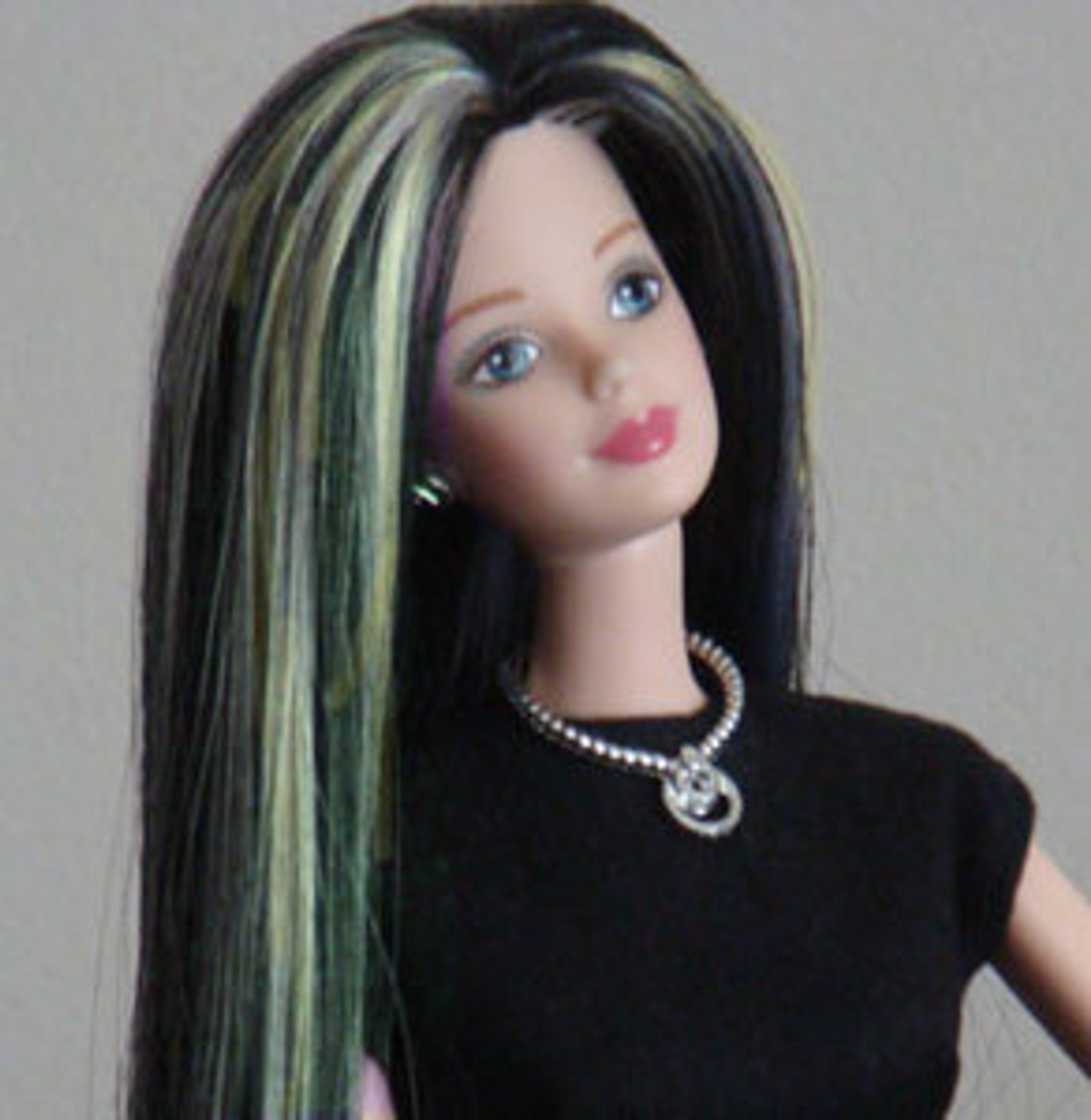 Sheila 70 KatSilk Saran Doll Hair