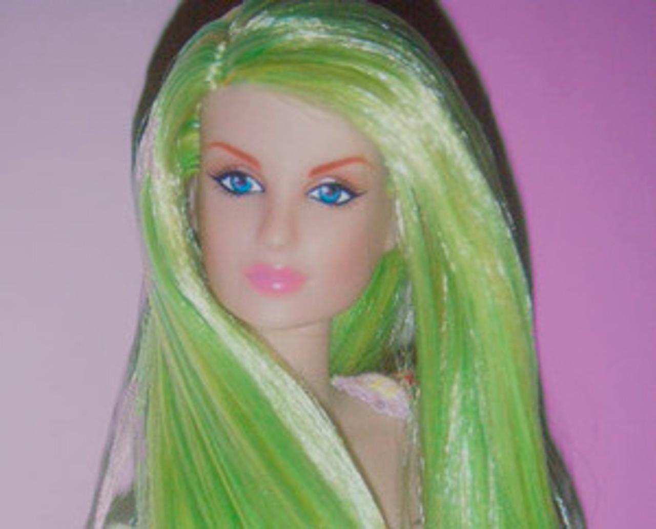 Vapor (98) KatSilk ® Saran Doll Hair