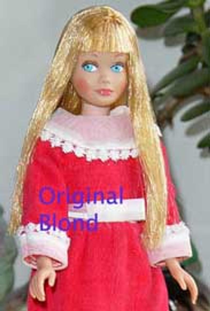 Original Blond 7 KatSilk Saran Doll Hair