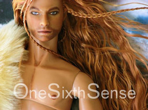 Burnished Titian 23 KatSilk® Saran Doll Hair