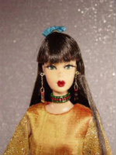 Hazelnut 50 KatSilk Saran Doll Hair