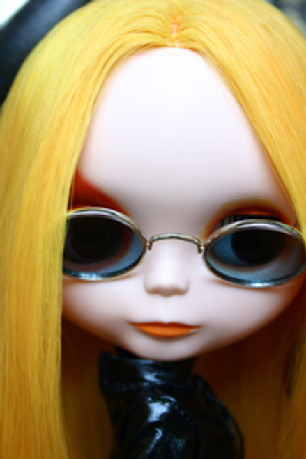 Taxi Yellow 61 KatSilk Saran Doll Hair