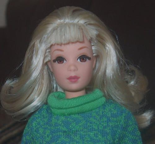 Limited Blond 74 KatSilk Saran Doll Hair