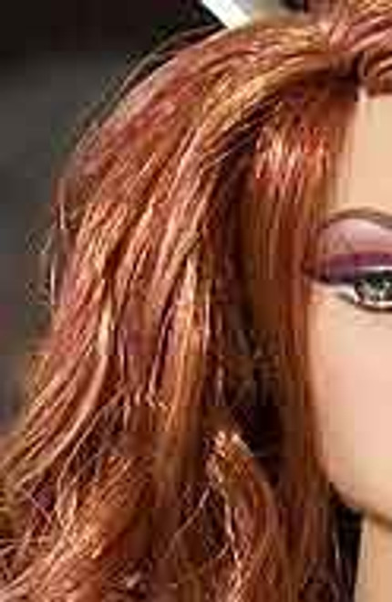 Rhapsody Red 82 KatSilk Saran Doll Hair