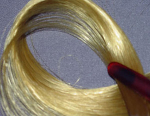 KatSilk Nylon Blond 12 Doll Hair 861