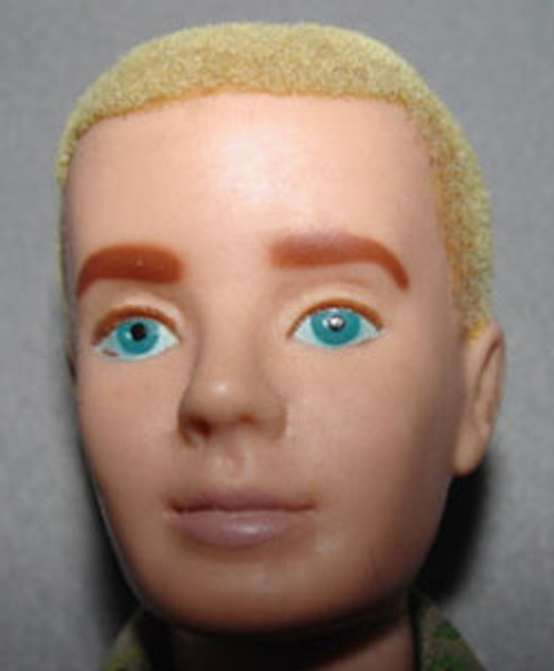Ken Blond Flocking