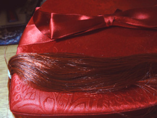 Bordeaux 108 KatSilk Saran Doll Hair